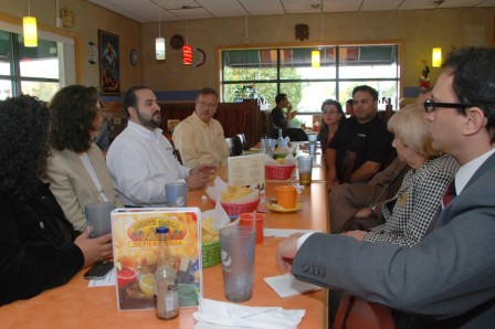 Business Lunch with Angel Estrella