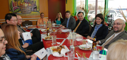Business Lunch with Jackie & Sergio Ruffolo