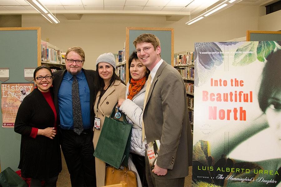 Luis Alberto Urrea Visits Rochester