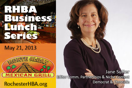 Business Lunch with Jane Sutter