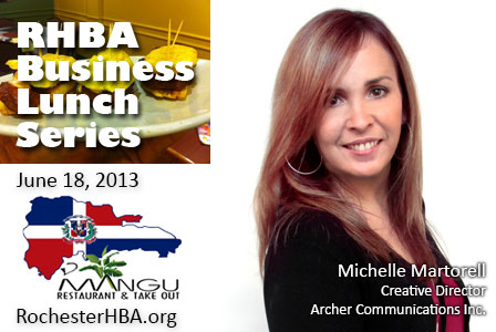 Business Lunch with Michelle Martorell