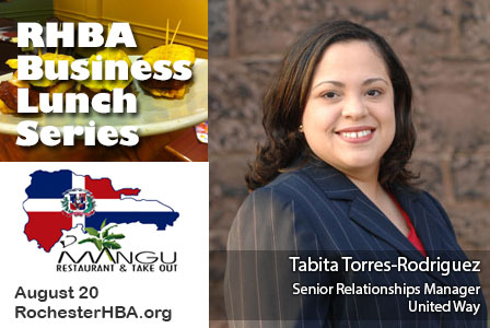 Business Lunch with Tabita Torres Rodriguez