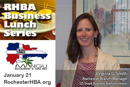 Business Lunch with Virginia G. Smith