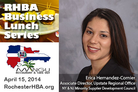 Business Lunch with Erica Hernandez-Cornier