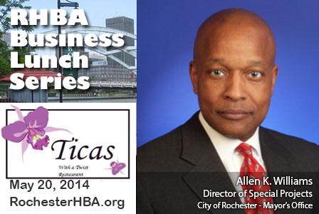 Business Lunch Series: Allen K. Williams
