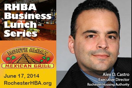 Business Lunch Series: Alex D. Castro