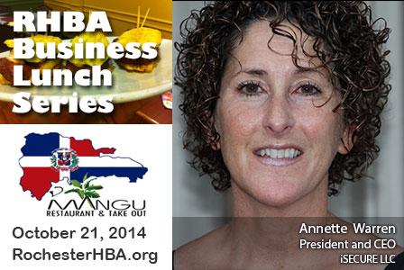 Business Lunch Series: Annette Warren
