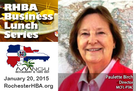 Business Lunch Series: Paulette Birch