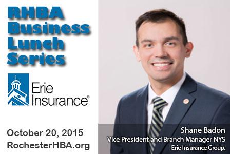 Business Lunch Series: Shane Badon