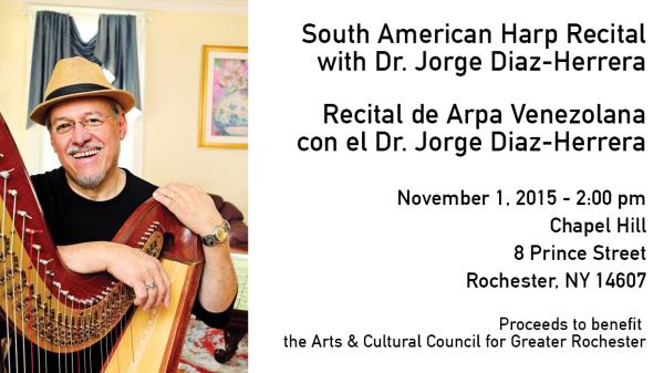 Latin American Harp Music Recital