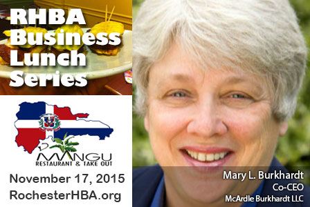 Business Lunch Series: Mary L. Burkhardt