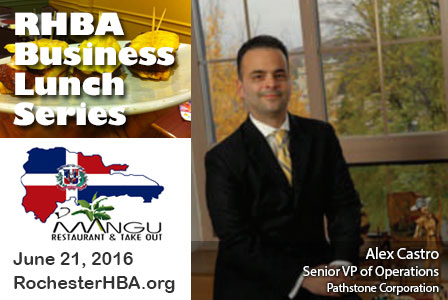Business Lunch Series: Alex Castro