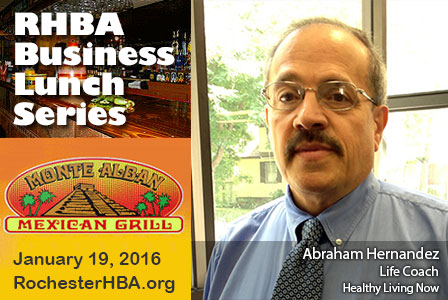 Business Lunch Series: Abraham Hernandez