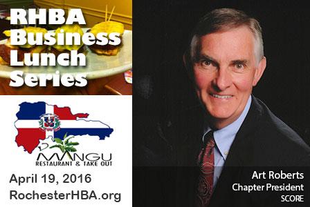 Business Lunch Series: Art Roberts
