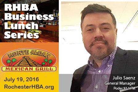Business Lunch Series: Julio Saenz