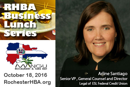 Business Lunch Series: Arline Santiago