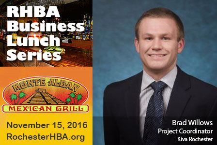 Business Lunch Series: Brad Willows