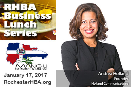 Business Lunch Series: Andrea Holland