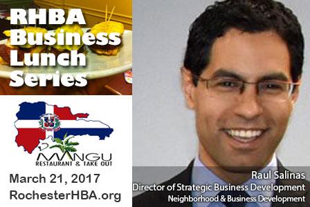 Business Lunch Series: Raul Salinas