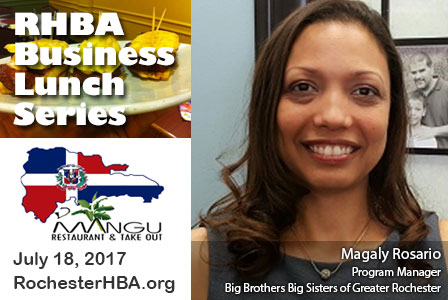 Business Lunch Series: Magaly Rosario