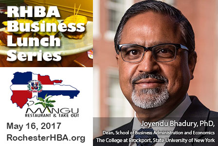 Business Lunch Series: Joyendu Bhadury, PhD