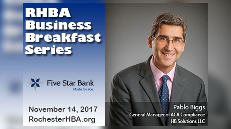 RHBA Monthly Breakfast: Pablo Biggs