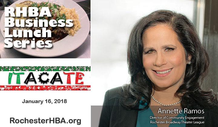 Business Lunch Series: Annette Ramos
