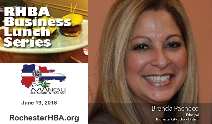 Business Lunch Series: Brenda Pacheco