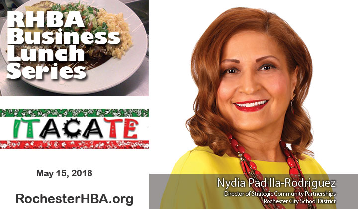 Business Lunch Series: Nydia Padilla-Rodriguez