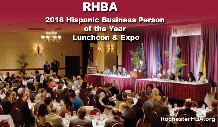 2018 RHBA Hispanic Business Person of the Year Luncheon