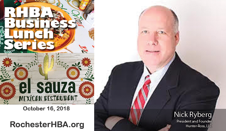 Business Lunch Series: Nick Ryberg