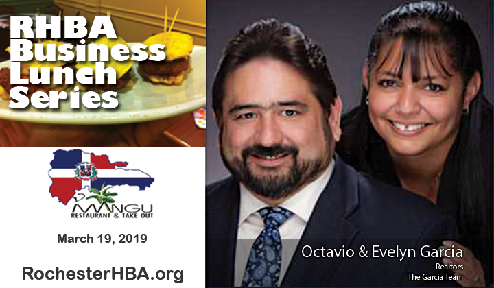 Business Lunch Series: Octavio and Evelyn Garcia