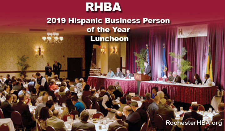 Tickets and Event information: 2019 Rochester Hispanic Business Person of the Year Luncheon