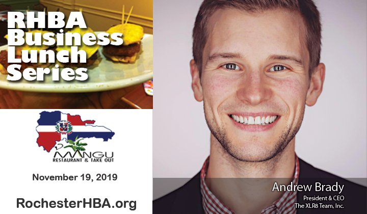 Andrew Brady, November Business Lunch, Rochester Hispanic Business Association