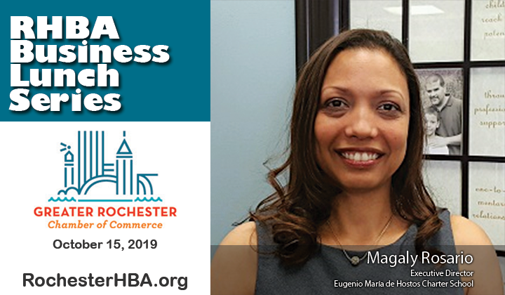 Magaly Rosario, October Business Lunch, Rochester Hispanic Business Lunch
