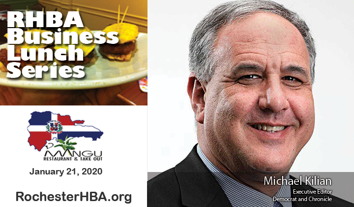 Business Lunch Series: Michael Kilian