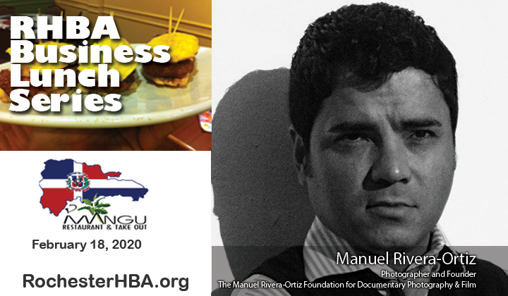 Business Lunch Event: Manuel Rivera-Ortiz